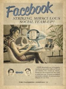Retro-style Facebook ad by Moma Propaganda.