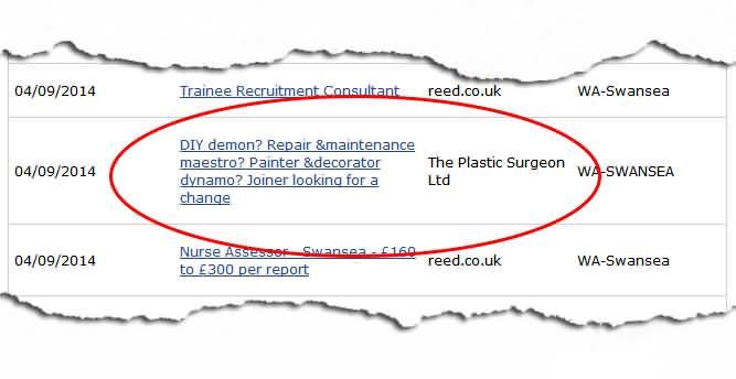 Direct gov job search